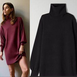 Wilfred rebecca dress in black